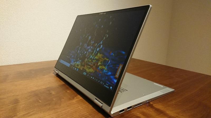 コンバーチブル型 PC スタンドモード Ideapad C340